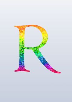 The Letter R by nameIsRaJ.deviantart.com