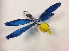Patrick, dragonfly homework for the Y7 Underwater Project. St Marys Catholic High School.