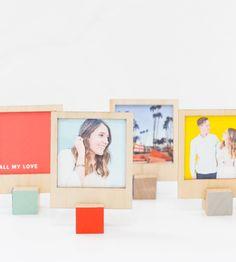 Marcos DIY Polaroid con soporte | Knowmad Design