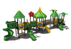 Noahs Park and Playgrounds - Tortugas Harbor Structure- It's the place your young pirate wants to be - the Tortugas Harbor Play Structure! This ADA Compliant play unit features a tropical theme making play unique and fun. It's equipped with climbers and slides great for getting your children outside and playing!(http://www.noahsplay.com/ada-equipment/ada-structures/tortugas-harbor-structure/)
