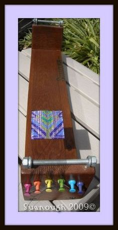 interesting loom - DIY Bead loom?