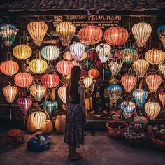 """Hoi An, Vietnam  @adambrazier  ''Watching all of the lanterns come to life as it gets dark in Hoi An is magical!""""  -  Contribute on  Facebook.com/backpackerstory for a FEATURE"""