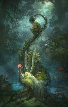 Fairie & Dryad by Minbohyun