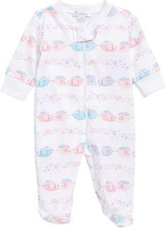 a9814530032a Kissy Kissy Eloquent Elephants Footie  affiliatelink Girls Sleepwear