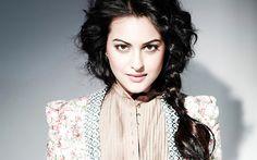 Descargar fondos de pantalla Sonakshi Sinha, Bollywood, la belleza, la actriz india, mujer hermosa, morena