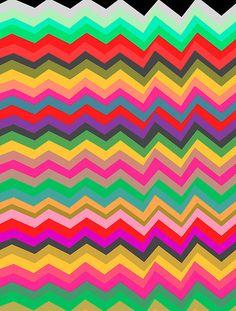 Just looking at Georgiana Paraschiv's work and I swear I saw a bunch of my friends turned into art. Chevron Art, Geometric Art, Geometric Patterns, Print Wallpaper, Pattern Wallpaper, Pattern Art, Pattern Design, Textures Patterns, Print Patterns
