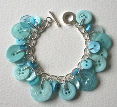 button bracelet on etsy