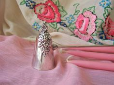 Vintage Candle Snuffer Wallace 728 Silverplate by cynthiasattic, $69.00