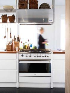 Moderne, hvitt kjøkken – Line   Drømmekjøkkenet