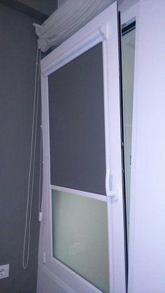 estor integrado en ventana oscilobatiente