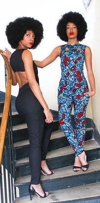 Styles Of Ankara Jumpsuit Ideas 2016 - Real Hair Cut / Shweshwe Dresses 2017 African Attire, African Wear, African Women, African Style, African Inspired Fashion, African Print Fashion, Fashion Prints, Afro, African Print Dresses