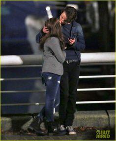 Chloe Moretz Kisses Co-Star Jamie Blackley for 'If I Stay' | Chloe Moretz, Jamie Blackley Photos | Just Jared