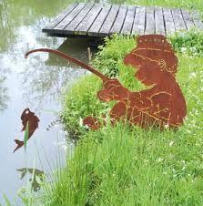 edelrost gartendeko - google-søgning | garten stahl figuren, Garten seite
