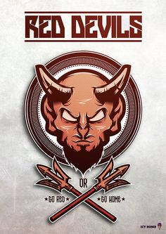 RED DEVILS. on Behance