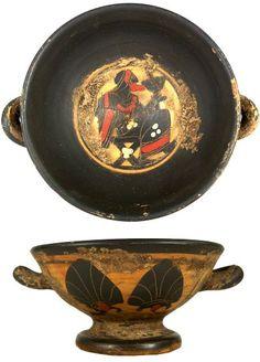 Ancient Greek Terracotta Pottery 400 BC