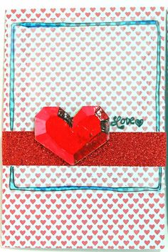 punk projects: Faux 3D Hearts DIY