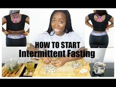 How To Start Intermittent Fasting And Lose Weight Fast Without Exercise - YouTube