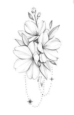 Sweet Tattoos, Girl Tattoos, Small Tattoos, Tattoos For Women, Floral Mandala Tattoo, Floral Tattoo Design, Tattoo Designs, Lotusblume Tattoo, Tattoo Quotes