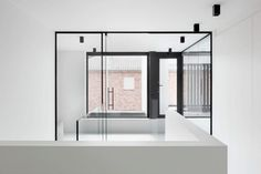 Villaproject Herk-de-Stad - Hoog ■ Exclusieve woon- en tuin inspiratie. Bauhaus, Villa, House, Furniture, Design, Home Decor, Concept, Summer, Modern Houses