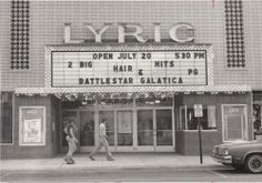 The Lyric Theater in Blue Island, Illinois. Saw Sonny  Cher here (live) in the mid-1960s one night while tornadoes tore up neighboring communities. Saw lots of Disney here too as a little girl.
