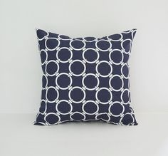 Nautical Pillow Cover Decorative Pillows by BlossomPillowCo