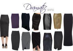 Dramatic skirts