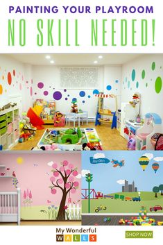 Nursery and Kids Wall Mural Stencils Tree Stencil, Stencil Painting, Stencils, Playroom Paint, Playroom Ideas, Boy Toddler Bedroom, Toddler Boys, Kids Bedroom, Kids Wall Murals