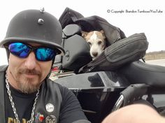 """Turnbow was riding on Highway 171 near Cresson, Texas, when something odd caught his eye.""""[I] was riding out an saw a vehicle pulled over on 171 with a worthless piece of crap beating an innocent little white dog,"""" posted Turnbow on Facebook. """"I watched in my rear view and saw this guy throw the dog into the air curbside and drive off.""""After the dog was abandoned, the hero rescuer went to check on the dog. Thpet wason the side of the highway, at risk of getting run over by other vehicles…"""