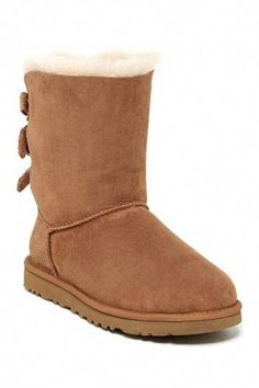 Bailey Bow Corduroy Genuine Sheepskin Boot by UGG Australia on @nordstrom_rack #UggsBoots