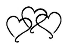 For when J and I get married. We'll put each of his kids initials in each heart. Infinity Tattoos, Wrist Tattoos, Foot Tattoos, Body Art Tattoos, New Tattoos, Tattos, Mom Daughter Tattoos, Tattoos For Daughters, Sister Tattoos