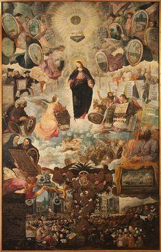 Juan de las Roelas  Allegoria della Vergine Immacolata Museo Nacional de Escultura, Valladolid