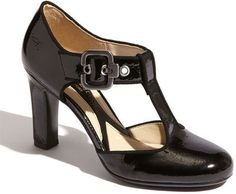 Naturalizer t-strap Posh pumps: actually comfy and look good, too.