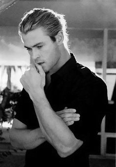 Chris Hemsworth thinking about me!!