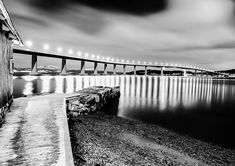 "@kiahans78: ""Bridge of light. Tags #blackandwhite #bnw #monochrome #bw #darkroom_daydream #bnw_magazine…"" Black And White Photography, Daydream, Railroad Tracks, Monochrome, Madrid, Bridge, Magazine, Tags, Pictures"