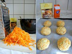 Glutenfrie, søde gulerodsboller 4