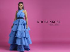 #KhosiNkosi Sotho Traditional Dresses, African Traditional Wear, African Traditional Wedding Dress, African Wedding Dress, Traditional Outfits, Xhosa Attire, African Attire, African Fashion Dresses, African Dress