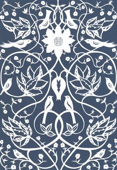 Arts & Crafts Design Papercut by Yasemin Wigglesworth