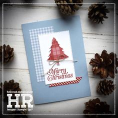 All Things Stampy: Sneak Peek: Perfectly Plaid Cas Christmas Cards, Stampin Up Christmas, Handmade Christmas, Holiday Cards, Christmas Crafts, Christmas 2019, Plaid Christmas, Card Making Inspiration, Making Ideas