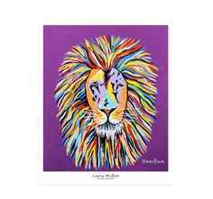 """Epic Graffiti """"Lewis McZoo"""" by Steven Brown, Giclee Canvas Wall Art Canvas Frame, Canvas Wall Art, Wall Art Prints, Canvas Prints, Canvas Size, Steven Brown Art, Stephen Brown, Lion Painting, Giraffe Painting"""