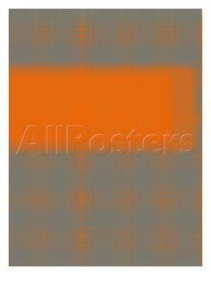 NaxArt - Abstract Orange 3 Umělecké plakáty na AllPosters.cz.