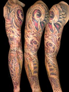 biomech tattoos | preview