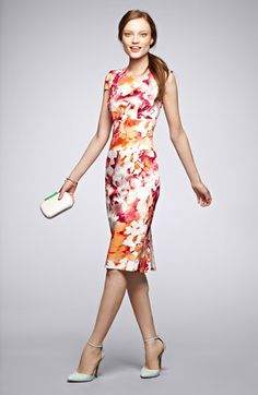 pretty sheath dress