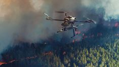 How Drones could change Future of Fighting Wildfires Education Degree, Drone Technology, Serious Business, Business Organization, Communication Design, Future Tech, Fire Department, Fighter Jets, Tourism