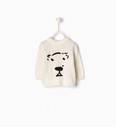 ZARA - KIDS - Bear sweater