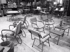 Original French Retro Furniture. We have regular shipments of individual interesting pieces. All available at Le Forge 59 Denison Street,  Camperdown NSW Australia www.leforge.com.au