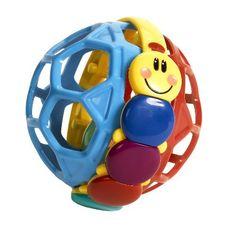 Baby Einstein Bendy Ball by KIDS II, http://www.amazon.com/dp/B001UF8BL4/ref=cm_sw_r_pi_dp_7QOMqb0QKZBVP