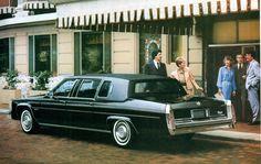 1983 Cadillac Fleetwood Limosine