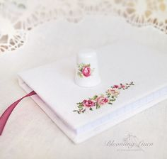 Blooming Linen: Tender Notebook