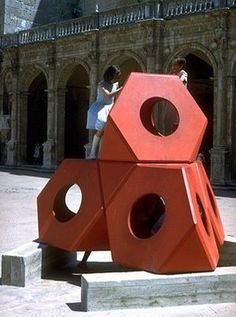 playscapes: Octetra, Isamu Noguchi, 1968 Spoleto Cathedral in Italy in 1968