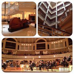 Symphony Center at #Chicago Tuvimos la oportunidad de escuchar la Orquesta Sinfónica de Chicago dirigida majestuosamente por Ricardo Muti. Una experiencia que me emociono hasta las lágrimas.